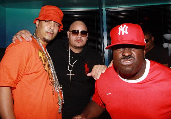 French-Montana-Funkmaster-Flex-Fat-Joe-Birthday-Party-Webster-Hall-NYC-polo-ralph-lauren-bucket-hat