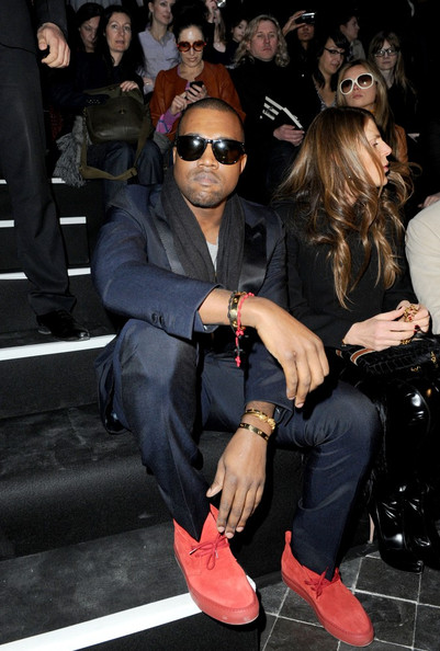 Kanye-West-Oliver-Peoples-Daddy-B-Sunglasses-Lanvin-Jacket-Red-suede-chukka-sneakers-1