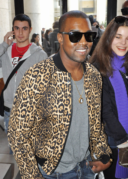 Kanye-West-Oliver-Peoples-Sunglasses-Givenchy-Leopard-Bomber-Jacket-Balmain-Jeans-3