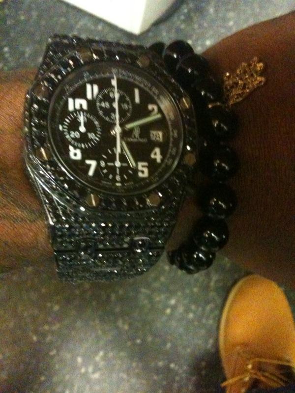 Gucci Link Chain >> Audemars Piguet Audemar AP Watch Royal Oak Offshore Splash ...