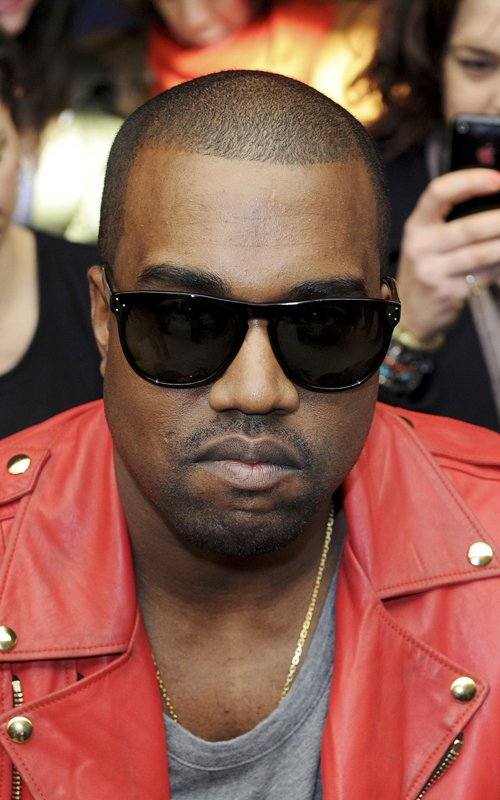 kanye-west-balmain-red-leather-Jacket-oliver-peoples-daddy-b-sunglases