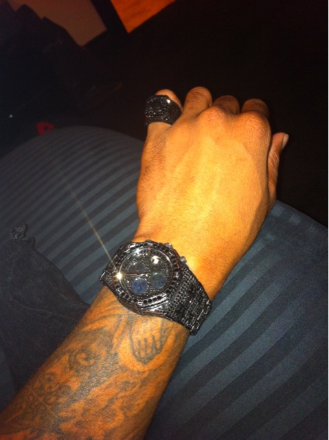 slim-thug-audemars-audemar-piguet-ap-black-diamonds-watch