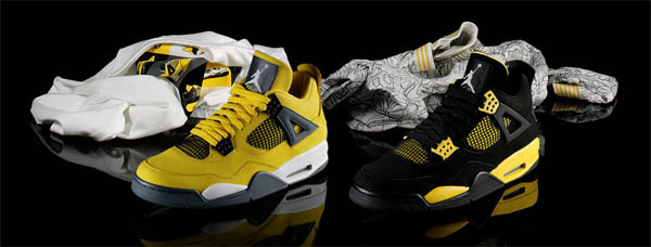 8b15a620f778 Fabolous Rocking Air Jordan 4 Thunder