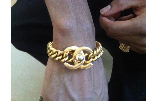 Big-Sean-Chanel-Bracelet-Vintage