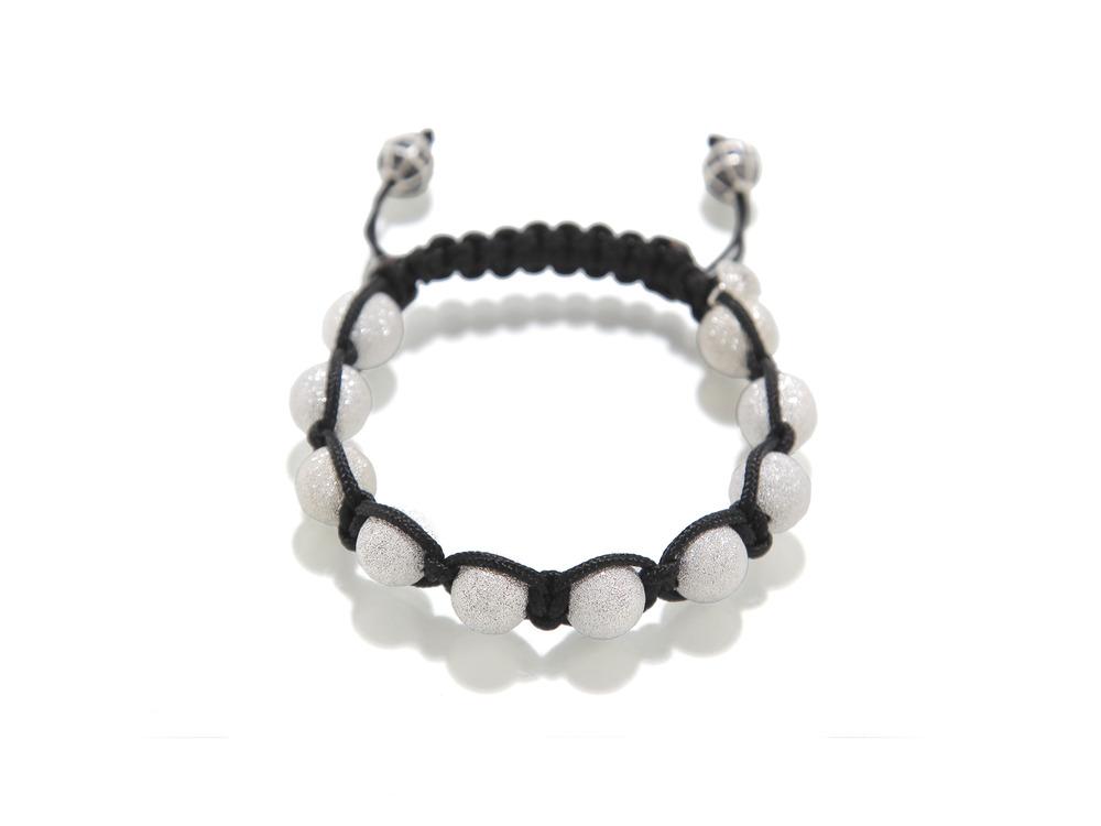 Black-Silk-Silver-Laser-Cut-Diamond-Chip-pangeale-bracelet