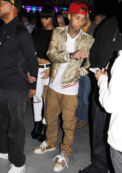 Tyga-Christian-Louboutin-Clippers