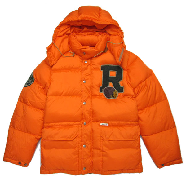 Vado Orange Rugby Down Jacket Splash | Splashy Splash