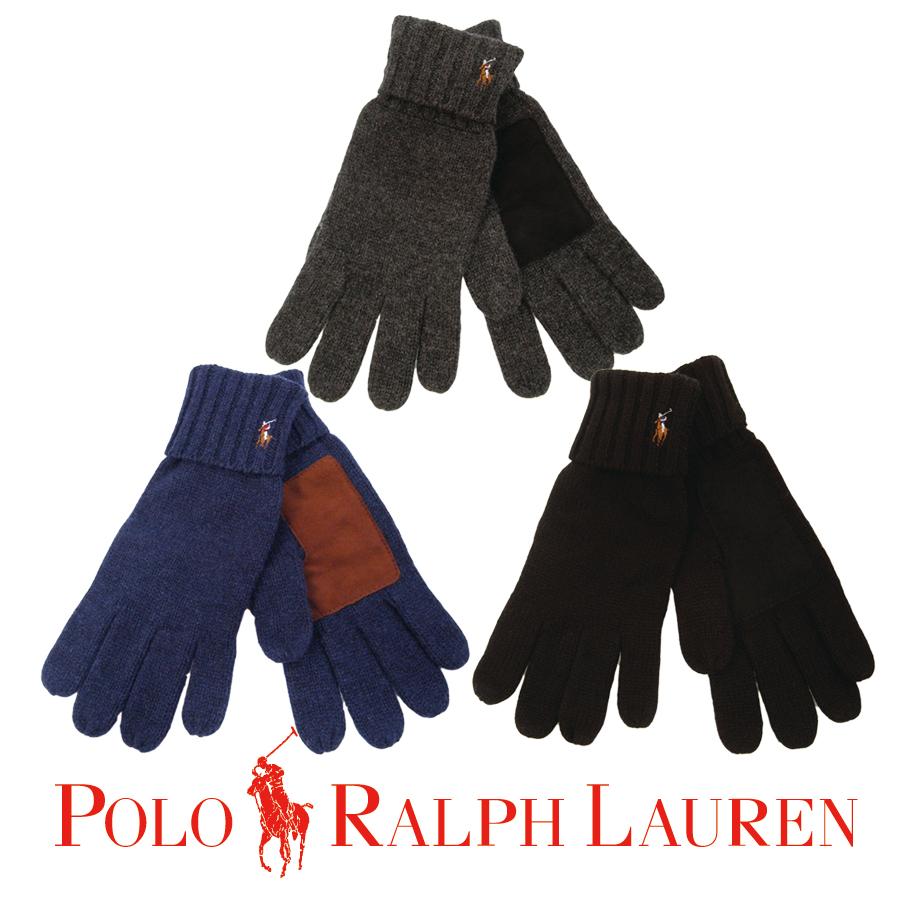 Ralph-Lauren-Polo-One-Point-Winter-Gloves