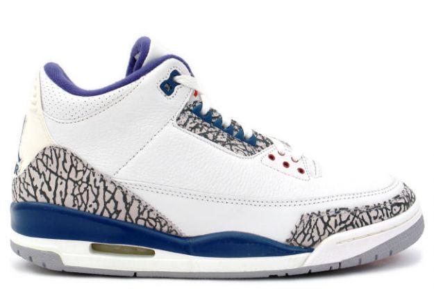 Jadakiss Rocking Air Jordan 3 Iii True Blues Splashy Splash