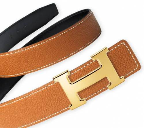 hermes-blue-leather-belt