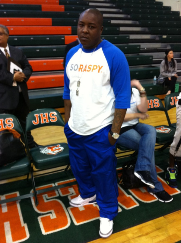 44fca46c0b5 Jadakiss Rocking Air Jordan 3 III True Blues