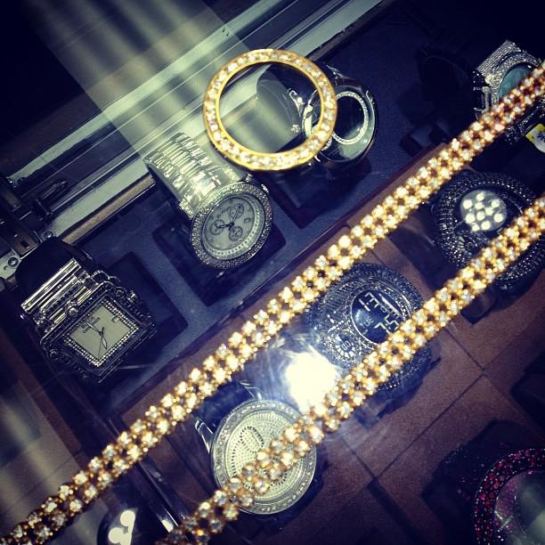 Tyga Rolex Link Chain Silver PictureTyga Rolex Chain