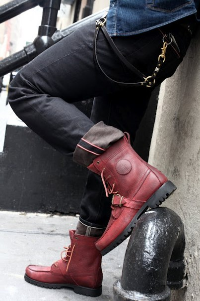 ralph-lauren-ranger-boots-polo-burgundy-red