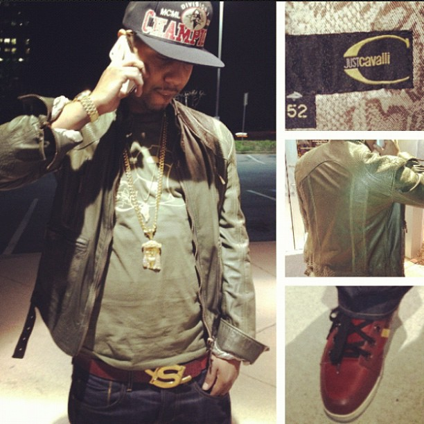 juelz-santana-just-cavalli-jacket-jesus-piece-ysl-belt-shoes