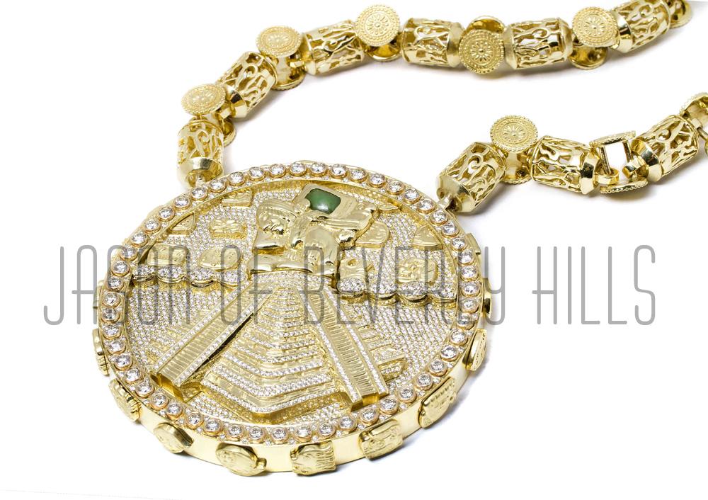 nas-jason-of-beverly-hills-mayan-chain-Chichen-itza-18k-gold