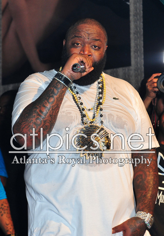 Rick Ross Lacoste Shirt Indian Head Chain Franck