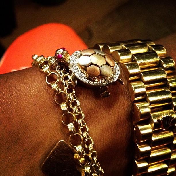 Currensy Miami Cuban Link Chain Amp Bracelet Splash