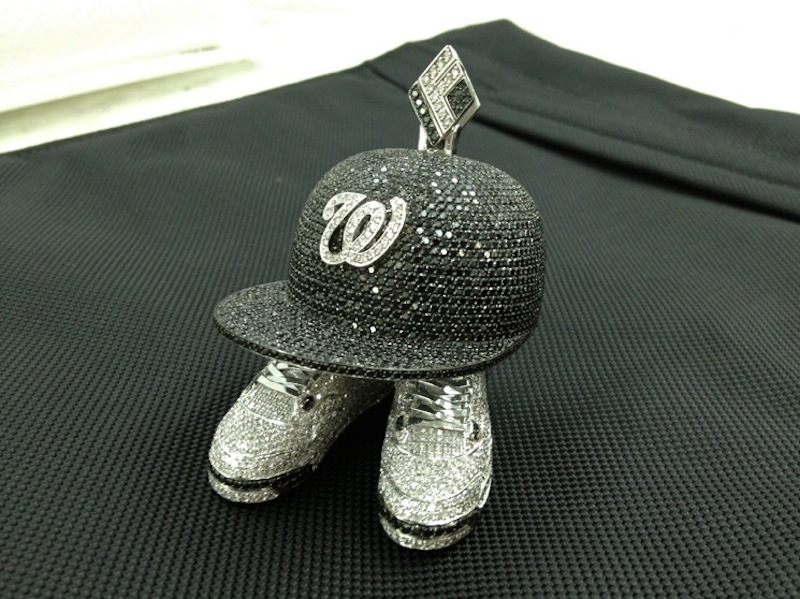 Washington-Senators-Fitted-AIr-Jordan-4-Cements-Piece-If-and-Co-diamonds