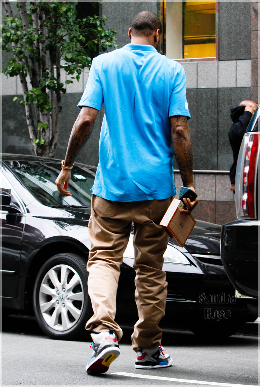 175a911faf45 Carmelo Anthony Rocking Air Jordan Spiz ike Bordeaux