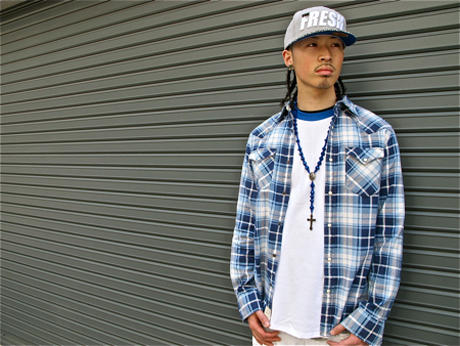 dicey-polo-denim-supply-western-shirt-air-jordan-4-military-blue-the-freshest-fitted