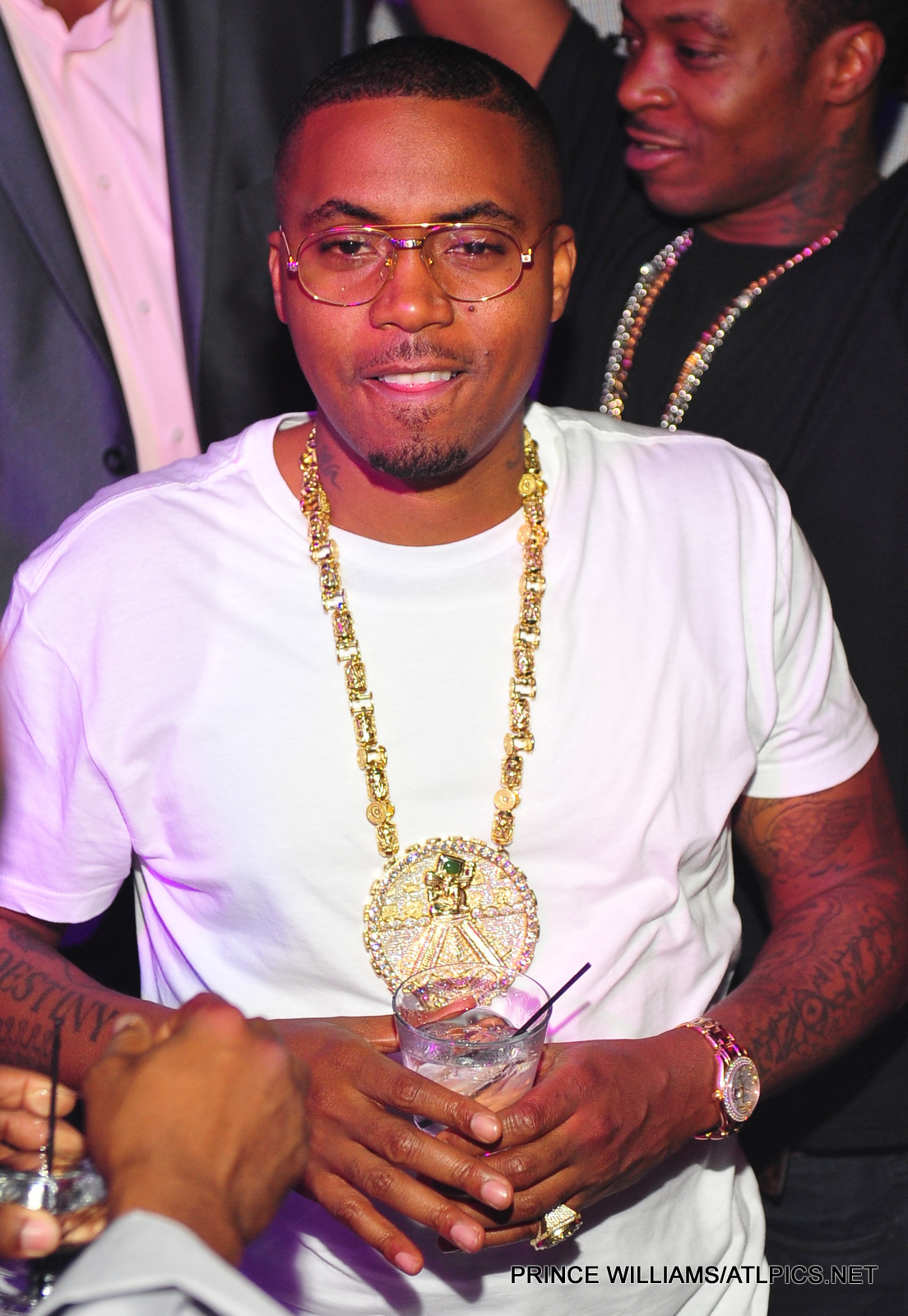 nas-reign-yellow-gold-mayan-chain-rolex-pinky-ring-2