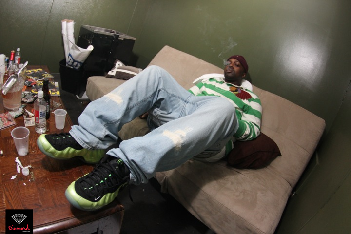 327ad2a900309 smoke-dza-polo-ralph-lauren-indian-head-striped- · nike-air-foamposite-pro -electric-green