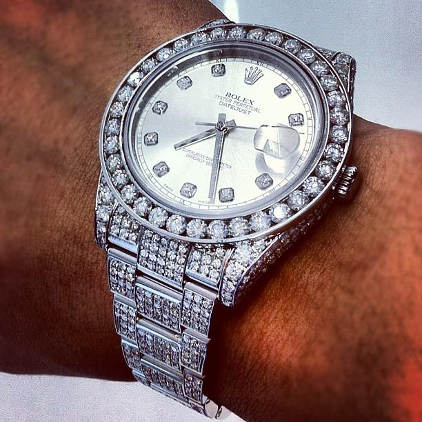 Meek Mill Rolex Watch Collection Splash Splashy Splash
