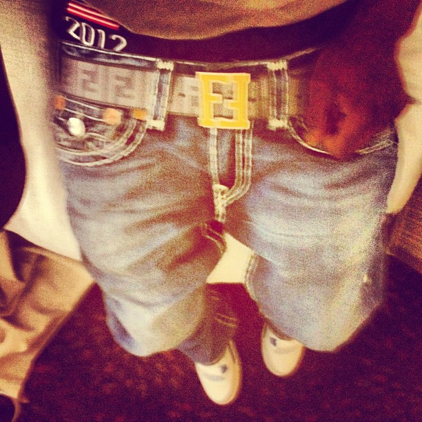 chief-keef-true-religion-jeans-fendi-belt