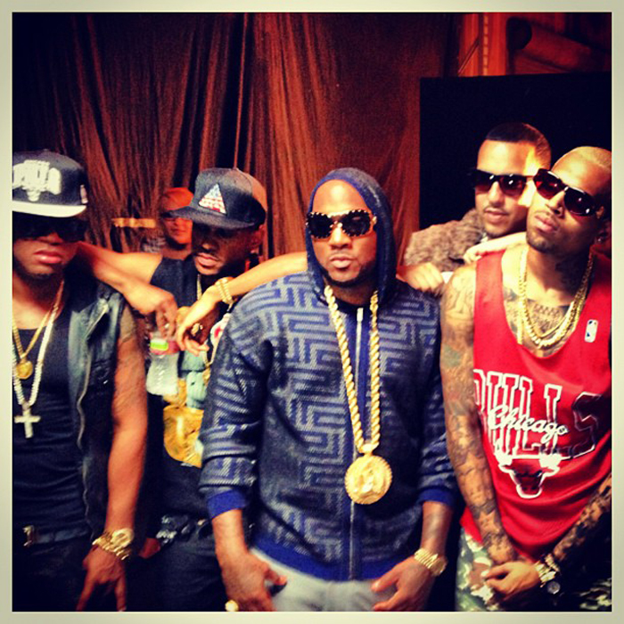 Young-Jeezy-Versace-Sunglasses-2129B-Versace-Hoodie-French-Montana-Red-Cafe-Chris-Brown-Big-Sean