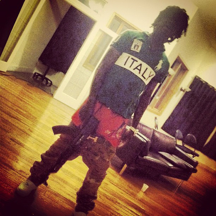 chief-keef-polo-ralph-lauren-italy-big-pony-shirt-hermes-belt-choppa
