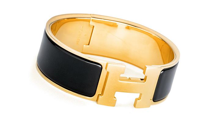 hermes-clic-clac-wide-h-bracelet-gold-black