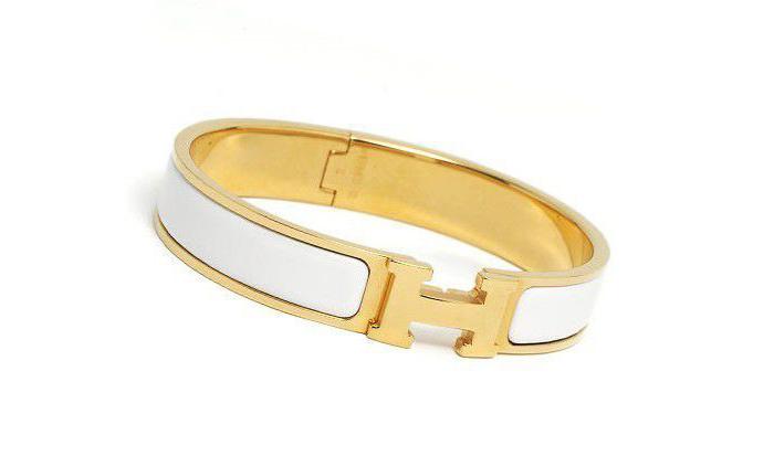 hermes-clic-h-bracelet-white-enamel-gold