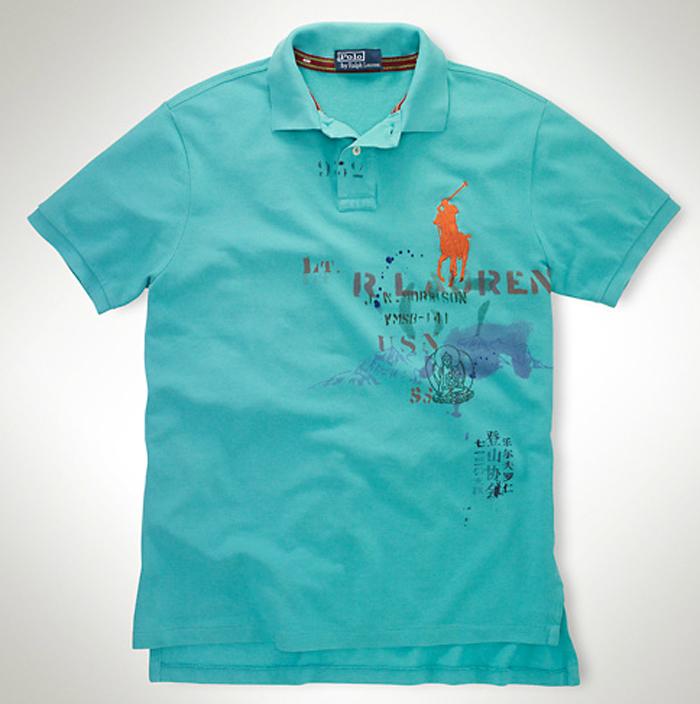 d4b1a26c0 The Game Rocking Polo Ralph Lauren Mountain Big Pony Shirt