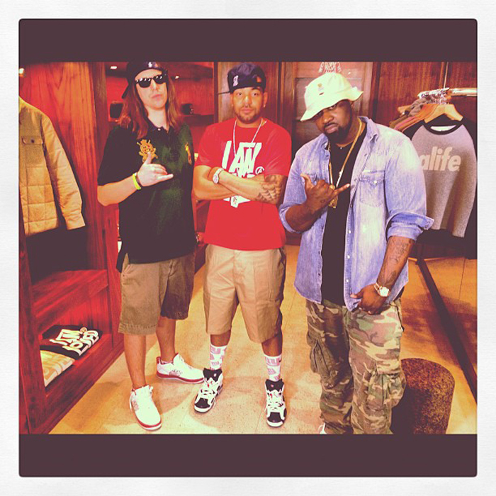 smoke-dza-polo-bear-bucket-hat-ralph-lauren-denim-jacket-camo-cargo-pants-harry-fraud-dj-envy-splashy-splash