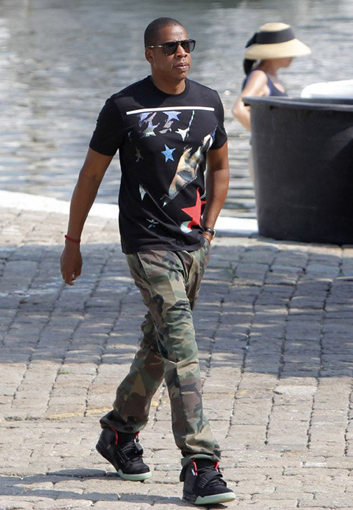 Jay-z-givenchy-apache-star-t-shirt-air-Yeezy-2-Persol-649-sunglasses-2
