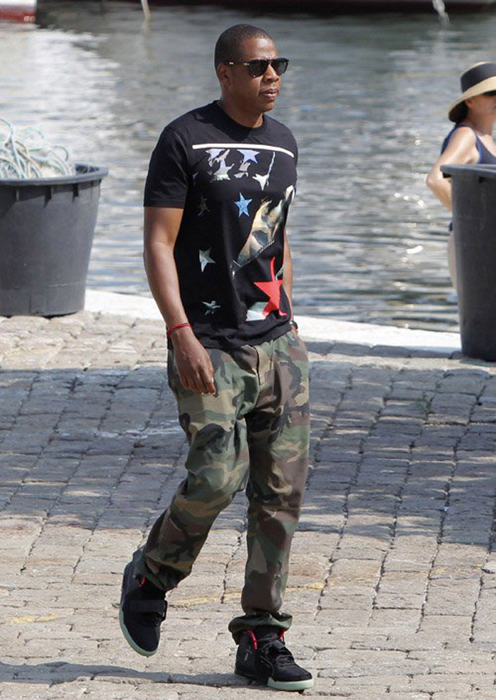 Jay-z-givenchy-apache-star-t-shirt-air-Yeezy-2-Persol-649-sunglasses