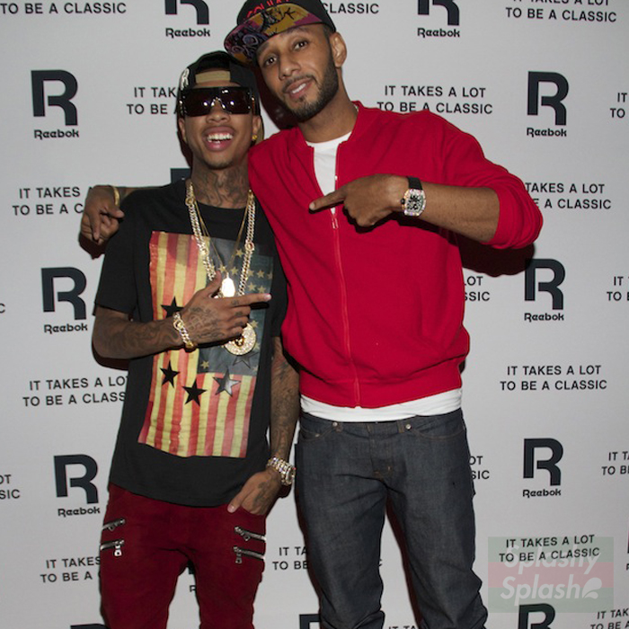 Tyga-Swizz-givenchy-us-flag-and-stars-shirt-balmain-homme-double-zip-pocket-biker-jeans-splashy-splash
