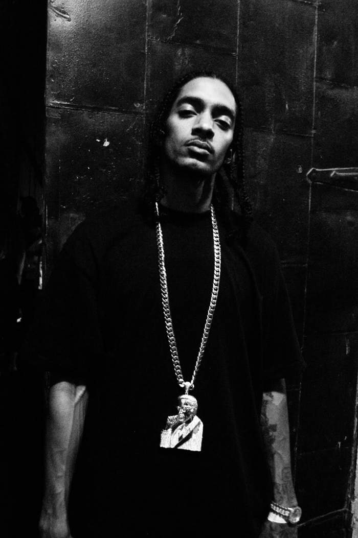 nipsey-hussle-gold-cuban-necklace-iced-out-malcolm-x-chain-pendant