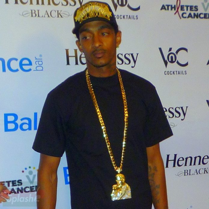 nipsey-hussle-yellow-gold-malcolm-x-piece-cuban-necklace