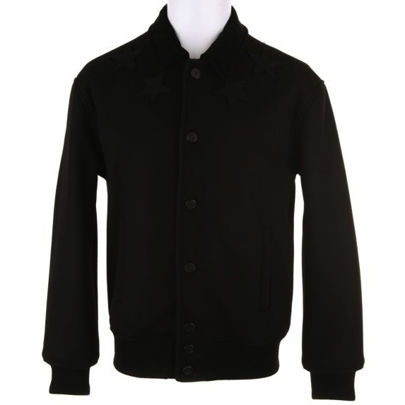 Givenchy-Star-Embroidered-Wool-black-Jacket