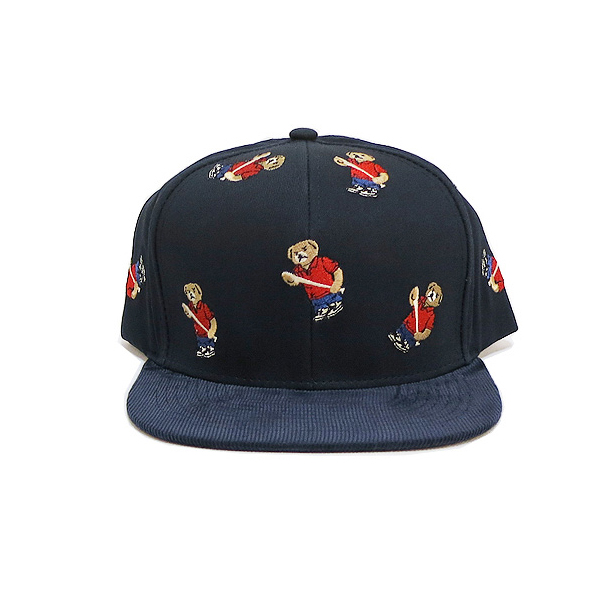 acapulco-gold-angry-lo-polo-bear-snapback-hat-navy