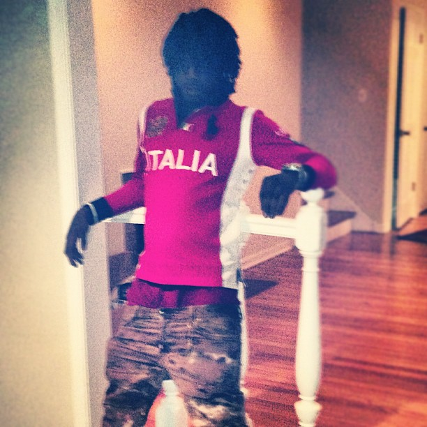 502710404628 Chief Keef Wearing Polo Ralph Lauren Big Pony Italia Shirt