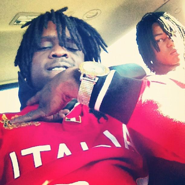 chief-keef-polo-ralph-lauren-red-italia-big-pony-shirt-5