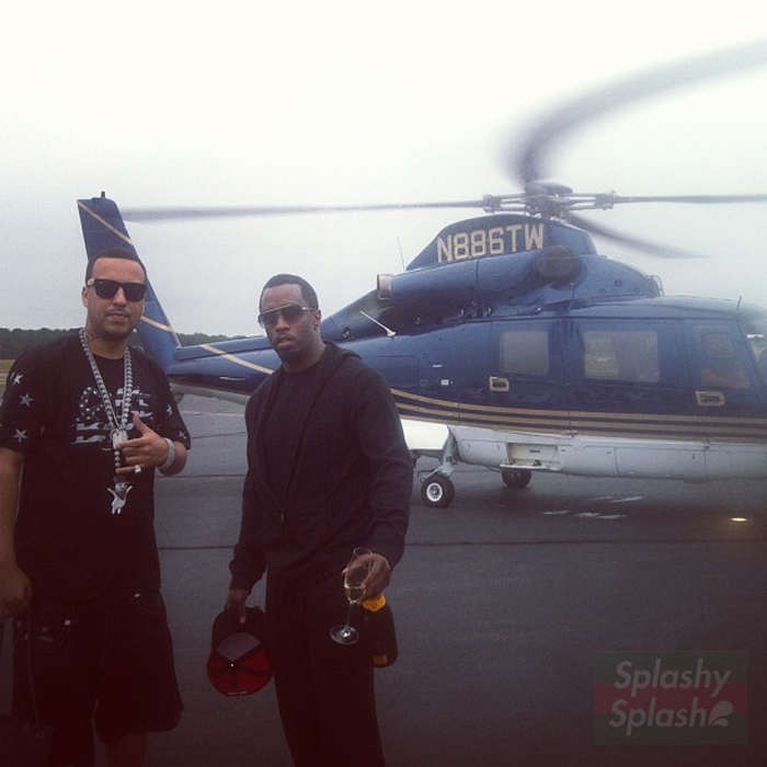 french-montana-black-usa-flag-coke-boys-shirt-diddy-helicopter-splashy-splash