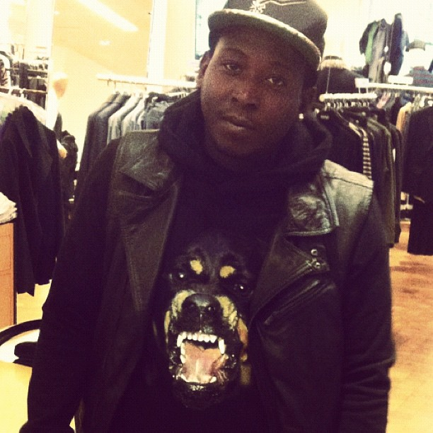 545fda7c Splash Of The Day: Hollywood P x Givenchy Rottweiler Hoodie ...