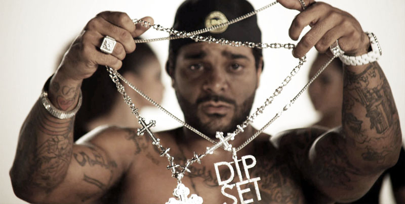 jim-jones-chanel-j12-white-ceramic-watch-dipset-chain-pinky-ring