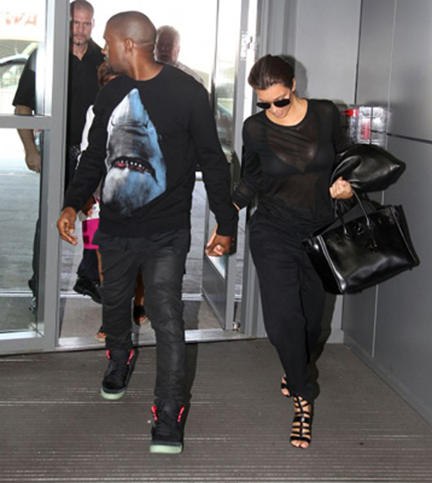 kanye-west-givenchy-shark-print-sweater-crewneck-kim-kardashian