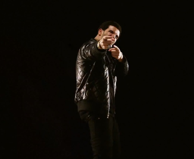 Drake-Gucci-Quilted-leather-Bomber-Jacket-black-fuckin-problems-video-4