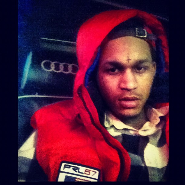 fredo-santana-red-polo-ralph-lauren-big-pony-vest