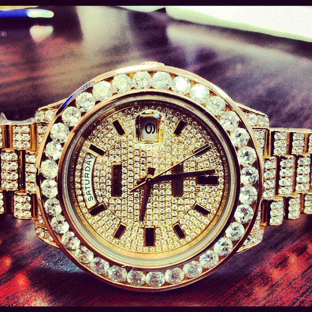 french-montana-iced-out-rolex-day-date-ii